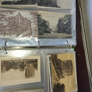 Antique European post cards and vintages American